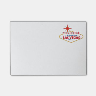 Welcome to Fabulous Las Vegas, Nevada Post-it® Notes