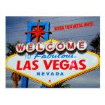 Welcome to Fabulous Las Vegas Nevada Postcard