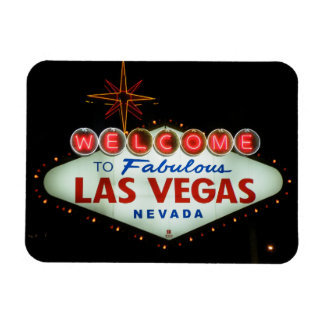 Welcome to Fabulous Las Vegas - Nevada Rectangular Photo Magnet