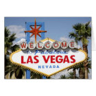 Welcome to Fabulous Las Vegas Nevada Sign Card