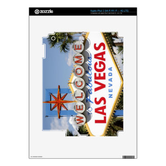Welcome to Fabulous Las Vegas Nevada Sign Decals For iPad 3