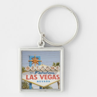 Welcome to fabulous las vegas nevada sign keychain