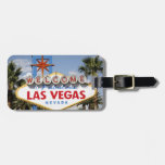 Welcome to Fabulous Las Vegas Nevada Sign Luggage Tag