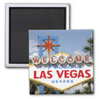 Welcome to Fabulous Las Vegas Nevada Sign Magnet