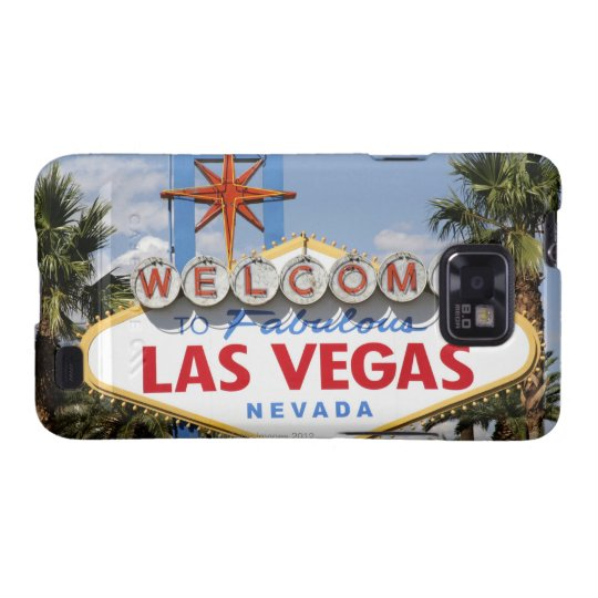 Welcome to Fabulous Las Vegas Nevada Sign Samsung Galaxy SII Cover