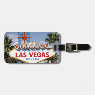 Welcome to Fabulous Las Vegas Nevada Sign Tag For Luggage