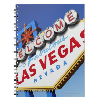 Welcome To Fabulous Las Vegas Spiral Note Book