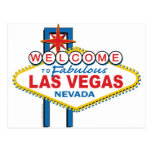 Welcome to Fabulous Las Vegas Post Card