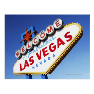 Welcome To Fabulous Las Vegas Postcard