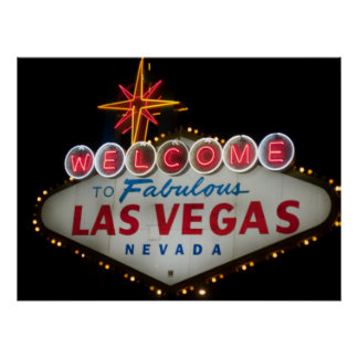 Welcome to Fabulous Las Vegas Poster Print
