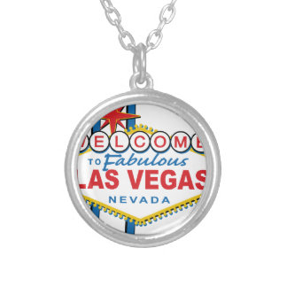 Welcome to Fabulous Las Vegas Round Pendant Necklace