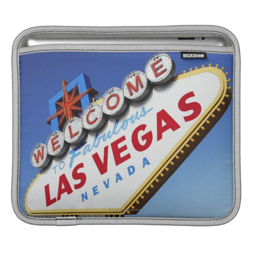Welcome To Fabulous Las Vegas Sleeves For iPads