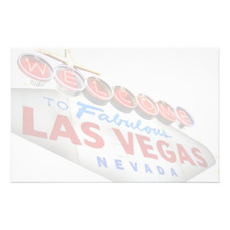 Welcome to Fabulous Las Vegas Stationery