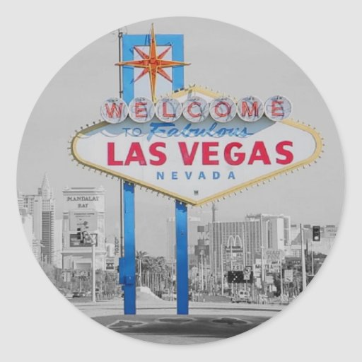 Welcome to fabulous las vegas sticker zazzle for Arts and crafts stores in las vegas