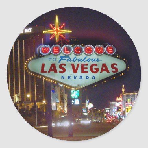 Welcome to fabulous las vegas stickers zazzle for Arts and crafts stores in las vegas