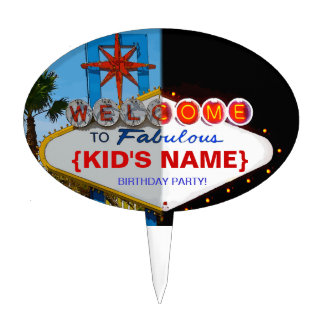 Welcome to Fabulous Your Birthday Party! Cake Topper