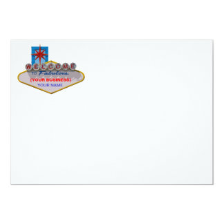 Welcome to Fabulous Your Business! 5x7 Paper Invitation Card