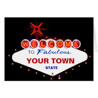 Welcome to Fabulous Your Town! Card