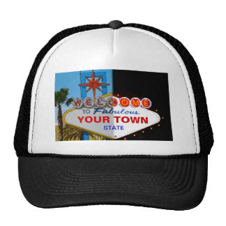 Welcome to Fabulous Your Town! Trucker Hat