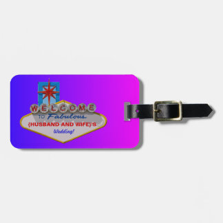 Welcome to Fabulous Your Wedding Bag Tag