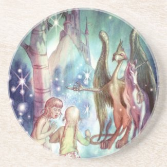 Welcome to Fairyland Drink Coasters