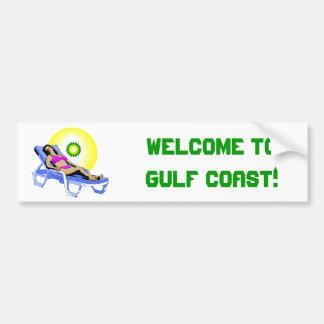 Welcome to Florida Gulf Coast! Car Bumper Sticker