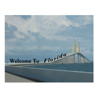 Welcome To Florida Postcard