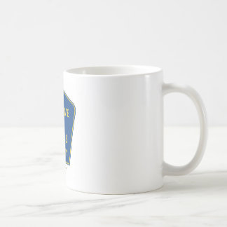 Welcome To Genius County (Signs) Classic White Coffee Mug