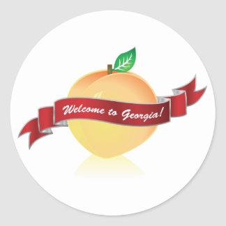 Welcome to Georgia sticker