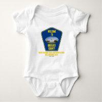 Welcome To Gridlock County (U.S. Congress Humor) Infant Creeper