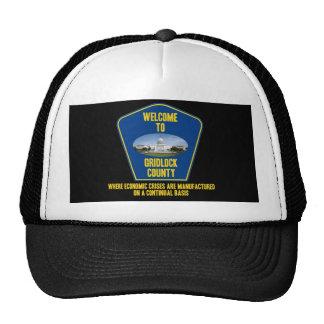 Welcome To Gridlock County (U.S. Congress Humor) Trucker Hat