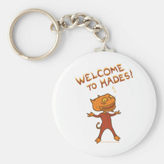 Welcome To Hades Key Chains