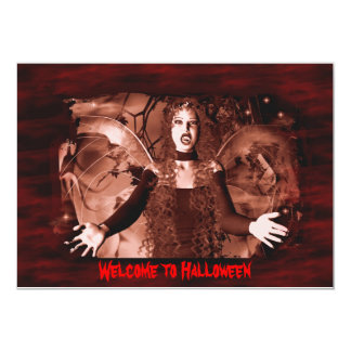 Welcome to Halloween Card