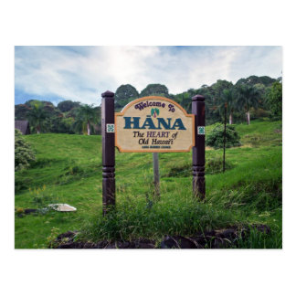 Welcome to Hana Postcard