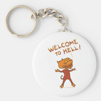 Welcome To Hell Keychains