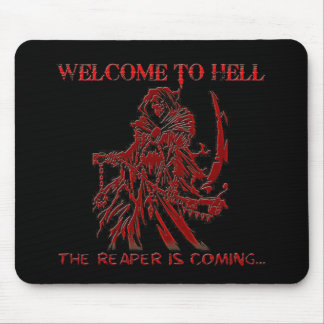 Welcome to Hell Mouse Mat