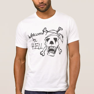 Welcome to Hell/Sniper Alley Sarajevo Tees