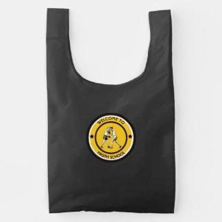 Welcome to High School Reusable Bag