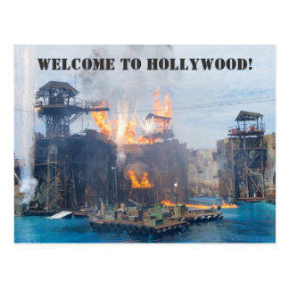 Welcome to Hollywood Postcard! Postcard