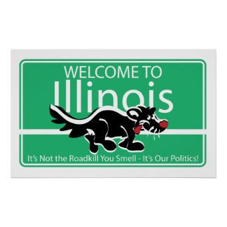 Welcome to Illinois Poster