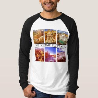 WELCOME TO ITALY  MOJISOLA A GBADAMOSI OKUBULE T-Shirt
