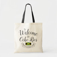Welcome to Jamaica | Destination Wedding Custom Tote Bag