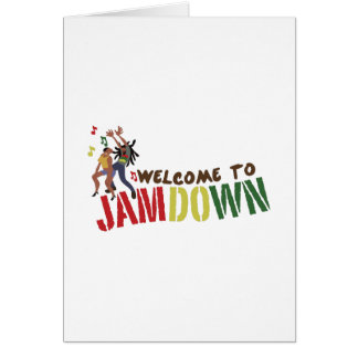 Welcome to Jamdown Greeting Card