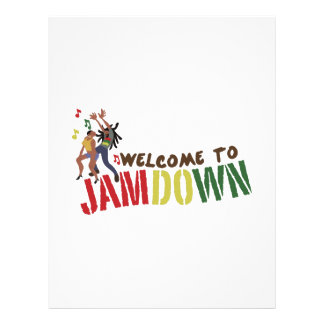 Welcome to Jamdown Letterhead