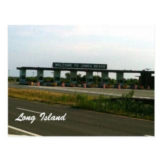 Welcome To Jones Beach Postcard