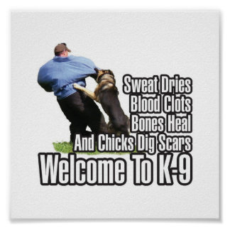 Welcome to K-9 Poster