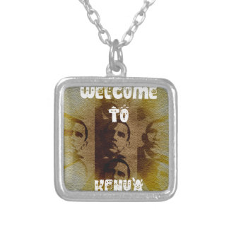 Welcome to Kenya Square Pendant Necklace