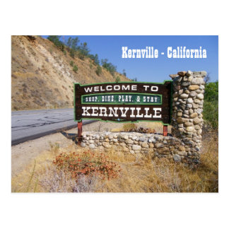 Welcome to Kernville Postcard! Postcard