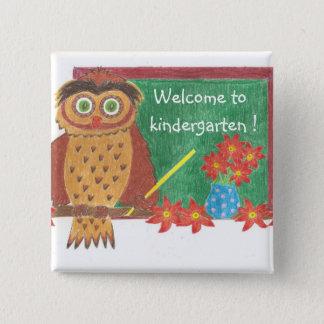 Welcome to kindergarten ! button