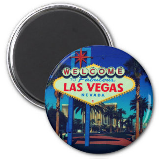 Welcome to Las Vegas! 2 Inch Round Magnet